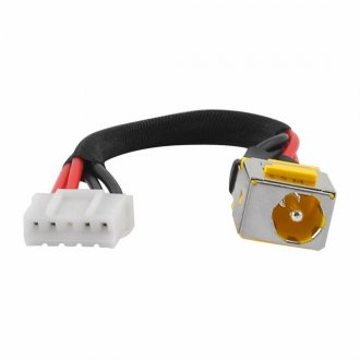 Букса за лаптоп (DC Power Jack) PJ122 Acer Extensa 7220 7620 с Кабел / With Cable