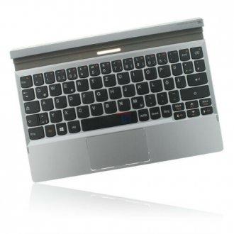 Горен корпус (Upper Cover - Palmrest) за Lenovo MiiX 2 10 Сребрист с Клавиатура с Тъчпад / Silver With Keyboard With Touchpad
