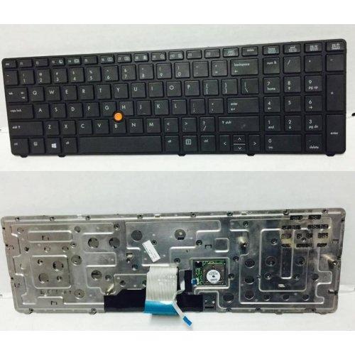 Клавиатура за лаптоп HP EliteBook 8770W Black Frame Black With Backlit с Кирилица