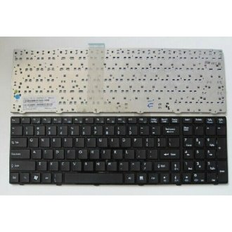 Клавиатура за лаптоп MSI GT660 GT660R GT663 GT685 GT685R Гланцова с черна рамка US