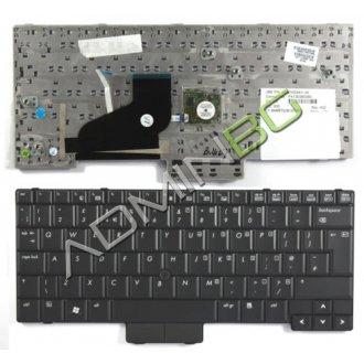 Клавиатура за лаптоп HP EliteBook 2530p Черна с Пойнт Стик / Black With Pointing Stick