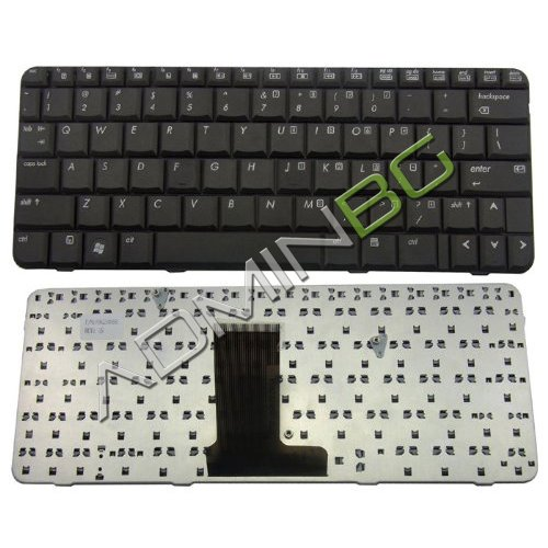 Клавиатура за лаптоп HP 2230s Compaq CQ20 Черна с Кирилица UK US