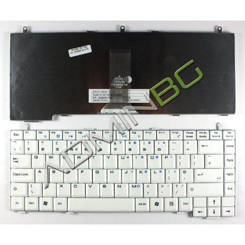 Клавиатура за лаптоп MSI VR330X LG K1 Бяла / White
