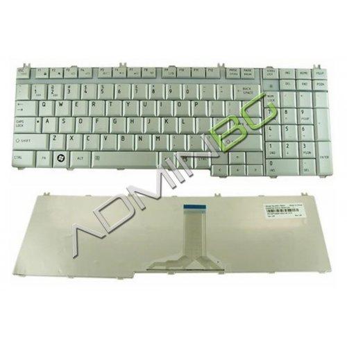 Клавиатура за лаптоп Toshiba Satellite X200 X205 Сребриста