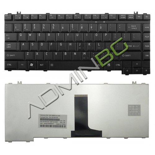 Клавиатура за лаптоп Toshiba Satellite M500 M505 M501 Черна Гланцова