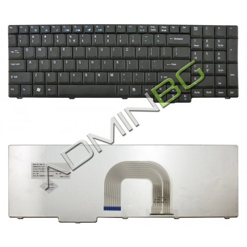 Клавиатура за лаптоп Acer Aspire 9800 9810 Black Matt US/UK