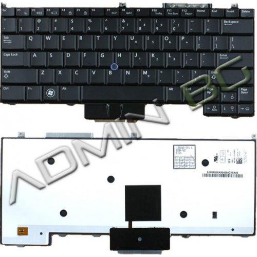 Клавиатура за лаптоп Dell Latitude E4300 Black Backlit US/UK с Кирилица