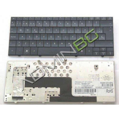 Клавиатура за лаптоп HP Mini 110-1000 Compaq CQ10-100 Черна с Кирилица