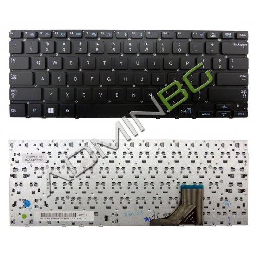 Клавиатура за лаптоп Samsung NP530U3B NP530U3C NP535U3C Black No Frame US