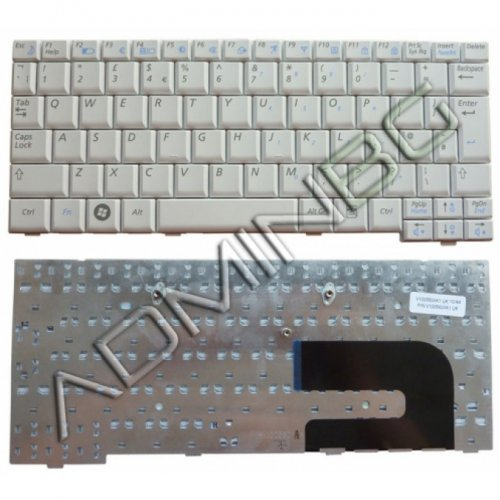 Клавиатура за лаптоп Samsung N148 N150 N158 NB20 NB30 NC10 Plus White US UK