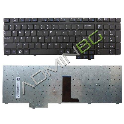 Клавиатура за лаптоп Samsung R720 R728 R730 Black US UK