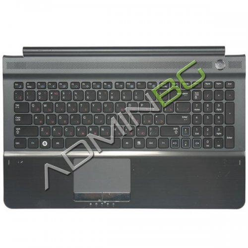 Клавиатура за лаптоп Samsung RC510 Black+Silver Keyboard+Palmrest+Touch