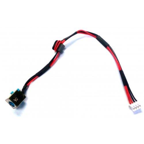Букса за лаптоп (DC Power Jack) PJ253 5.5X1.7MM Acer Aspire E1-531 E1-571 TravelMate TMP253-E Жълта Букса (Yellow)