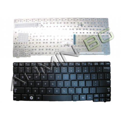 Клавиатура за лаптоп Samsung N148 N150 N158 NB20 NB30 NC10 Plus Black с Кирилица
