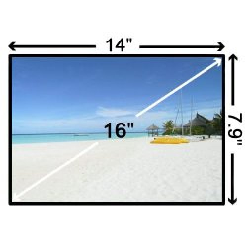 Матрица за лаптоп (Дисплей) 16.0 LTN160AT01 LCD (1366x768) - Гланцова / Glossy