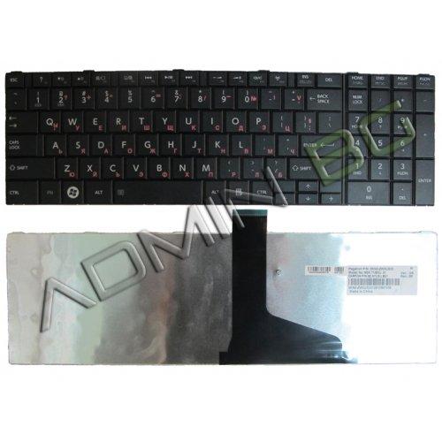 Клавиатура за лаптоп Toshiba Satellite C850 C855 C850D L850 L850D Черна с Кирилица