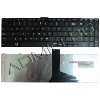 Клавиатура за лаптоп Toshiba Satellite C850 C855 C850D L850 L850D Черна