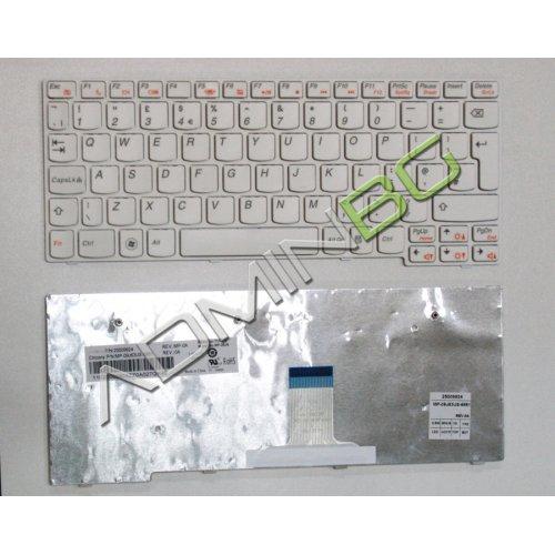 Клавиатура за лаптоп Lenovo IdeaPad S10-3 White Frame White