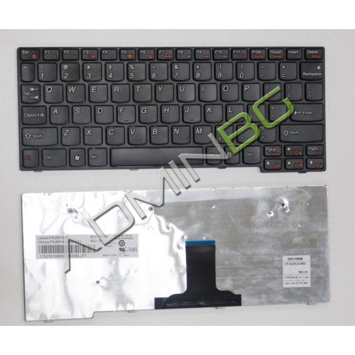 Клавиатура за лаптоп Lenovo IdeaPad S10-3 Black Frame Black