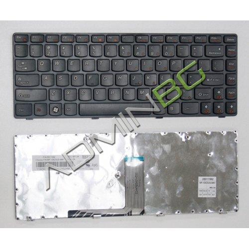 Клавиатура за лаптоп Lenovo B470 G470 V470 Z470 Black Frame Black с Кирилица