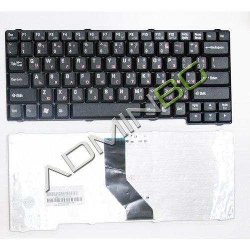 Клавиатура за лаптоп Toshiba Satellite L10 L15 L20 L25 L30 L35 L100 Черна с Кирилица