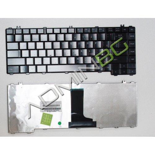 Клавиатура за лаптоп Toshiba Satellite L600 L630 L640 L645 Черна с Кирилица